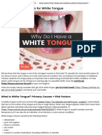 White Tongue Causes & 10 Natural Treatments for White Tongue - Dr. Axe