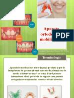 Aparate ortodontice mobilizabile