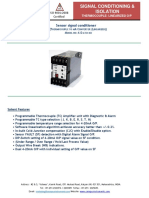 Thermocouple signal converter, Thermocouple manufacturers in India - Canopus Instruments