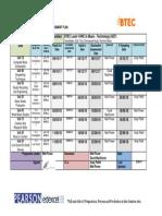 HNC 1718 Assessment Plan Music Technology