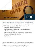 11-Literature Review Quiz