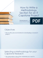 12-How to Write a Methodology Section