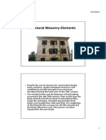 Structural Masonry Elements 1