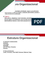 Aula 30 - Estrutura Organizacional