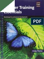 CCC Teacher Training Essentials - Jeremy Harmer