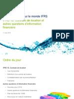 IFRS 16- Contrats de Location Et Autres Questions d2019information Financiere