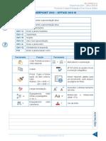 Resumo 808605 Jeferson Bogo 24175530 Informatica 2016 II Aula 40 Powerpoint 2010 Office 2010 III