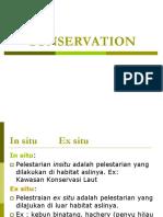 Conservasi in Situ