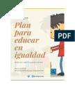 Plan Para Educar en Igualdad