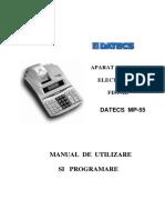 Manual Datecs MP55