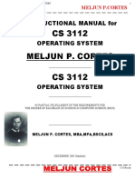 MELJUN CORTES Instructional Manual Operating System