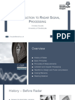 Introduction Radar Signal Processing