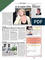 Le Parisien - Petit papier politique