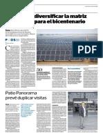 La Merta Es Diversificar La Matriz Energética Para El Bicentenario