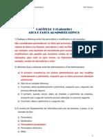 Contabilidade Geral I Cap 10 - Gabarito - Atos e Fatos