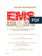 EMS Convention Information - Local Delegates 1-2018