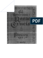AMORC-The American Rosae Crucis 14 Febrero 1917 Completo Traducido Al Español