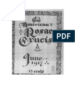 AMORC-The American Rosae Crucis 15 Marzo a Junio 1917 Completo Traducido Al Español