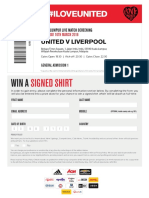 Iloveunited Tickets 2
