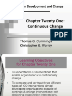 Organizationa Development and Change