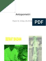 Antopometri