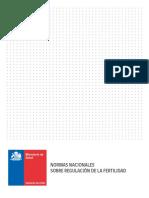 Normas Regulacion de La Fertilidad Definitivo PDF