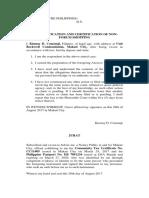 Verification and CNFS