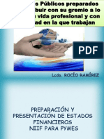 Preparacion y Presentacion de Estados Financieros Bajo Niif - Rocio Ramirez 15-10-2011 (4) 1