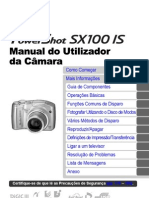 Manual Canon SX100-Is Portuguese