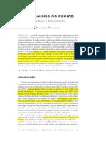 PONTUAL, V.- O Urbanismo No Recife- Entre Idéias e Representações