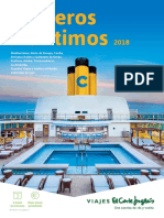 Cruceros 2018 Baja