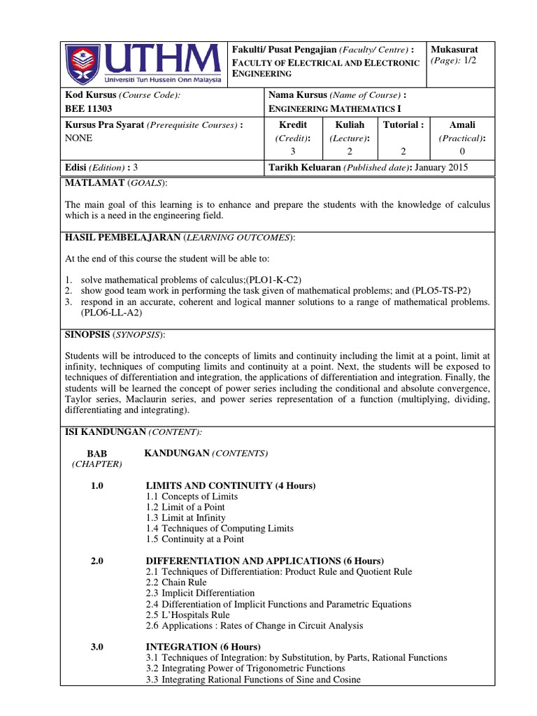 bee11303_engineering_mathematics_i_latest_syllabus3 pdf
