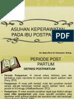 Askep Periode Postpartum