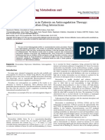 Treatment of Depression in Patients on Anticoagulation Therapyantidepressantrivaroxaban Drug Interactions 2157 7609 1000215