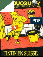 Tintin en Suisse - Couverture 1