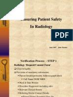 Radiology Safety
