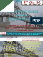 Rail Cum Road Bridge Across the Ganga Near Munger