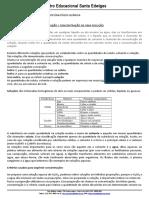 APOSTILA DE CONCENTRAÇÃO DE SOLUÇÕES - CESE.doc