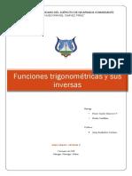 Funciones Trigonométricas y Sus Inversas