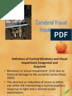 Cortical Visual Impairment(1)