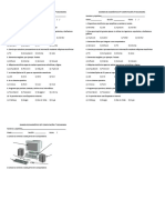 Examen de Diagnóstico Ept Computación 2