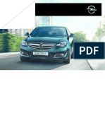 Instructiuni Opel Insignia
