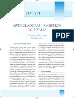 Articuladores - Registros Oclusales