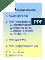 Productos Estructuras de Acero