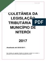 Coletânea Da Legislação Tributária Niterói