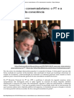 Senso comum e conservadorismo_ o PT e a desconstrução da consciência – Blog da Boitempo