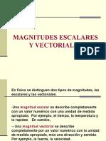 Magnitudes Escalares y Vectoriales 2