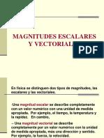 Magnitudes Escalares y Vectoriales 3