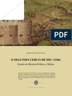 «O Segundo Cerco de Diu (1546). Estudo de História Política e Militar - Roger Lee de Jesus