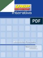 Matemática Financeira - Unidade I